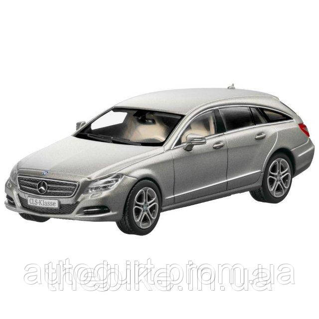 Модель автомобиля Mercedes-Benz CLS-Class (X218) Shooting Brake Manganite Grey, Scale 1:43