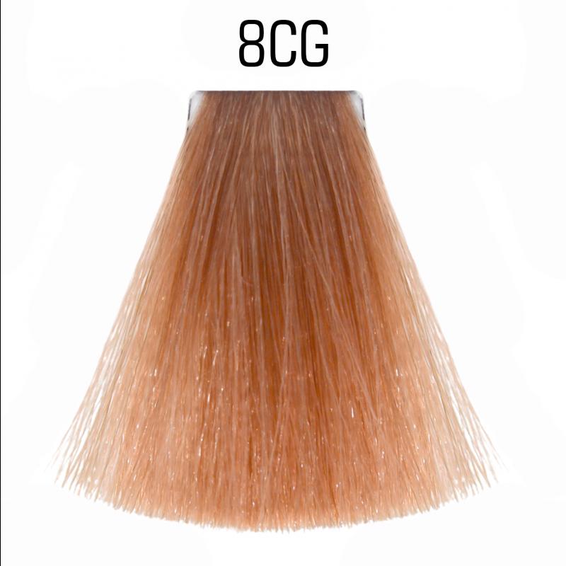 8CG (медно золотой светлый блондин) Тонирующая крем-краска для волос без аммиака Matrix Color Sync,90 ml