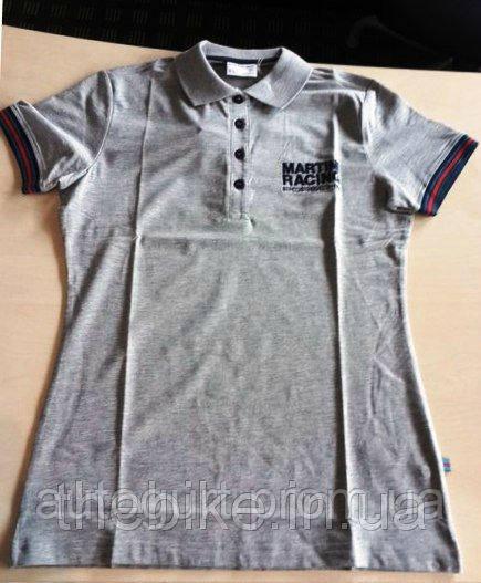 Женская футболка-поло Porsche Women's Martini Racing Polo Shirt Grey