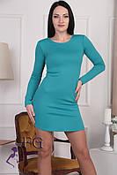 """Платье женское """"Роуз"""". Распродажа модели морская волна, 44"""