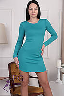 """Платье женское """"Роуз"""". Распродажа модели 42, морская волна"""