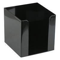 Куб для паперу 90x90x90 мм, чорний