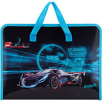 "Портфель Kite K17-202-3 ""Racing night"", A4 (Y)"
