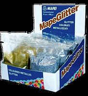 Металлизированная цветная добавка для шовного эпоксидногоклея/затирки - MapeGlitter Mapai | МапеГлитер Мапей