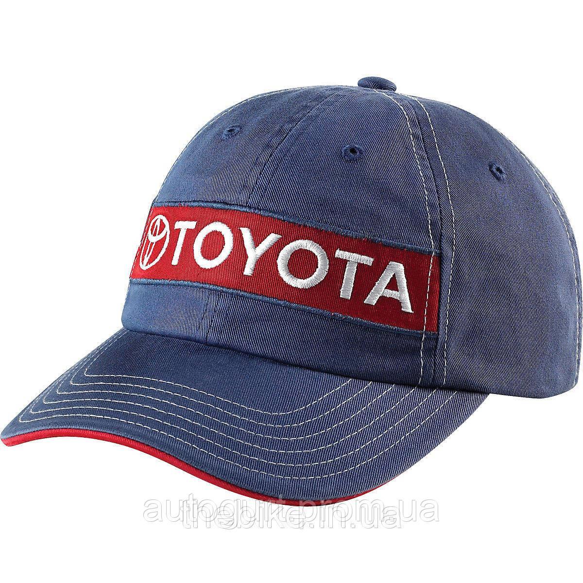 Бейсболка Toyota Vintage Patch Cap
