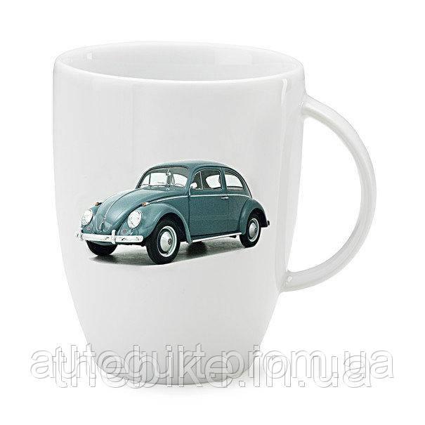Фарфоровая кружка Volkswagen Classic Mug Beetle, Green