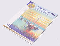 Скетчбук для рисования масляными и акриловыми красками, А4