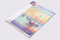Скетчбук для рисования масляными и акриловыми красками, А3