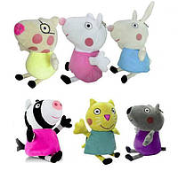 Друзья Свинки Пеппы, 19 см, плюшевые игрушки