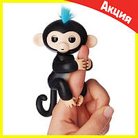 Интерактивная обезьянка Fingerlings (Черная), фото 1