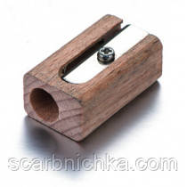 "Точилка ""Optima"" деревянная ""Tropic"" 40675"