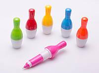 """Ручка кулькова дитяча """"Кеглі"""", в асортименті"""