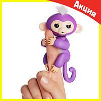 Интерактивная обезьянка Fingerlings (Фиолетовая)