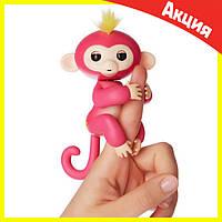 Интерактивная обезьянка Fingerlings (Розовая), фото 1