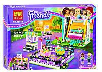 """Конструктор Bela Friends 10560 """"Парк развлечений: аттракцион Автодром"""" 429 деталей. Аналог LEGO Friends 41133"""
