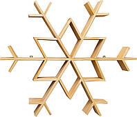 Снежинка-этажерка