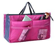 Органайзер для сумочки TAILUP  Bag-in-Bag 29х18х10 см Малина (024)