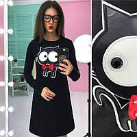 Женское красивое платье Котик