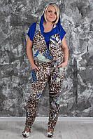 Женский комбинезон больших размеров + футболка