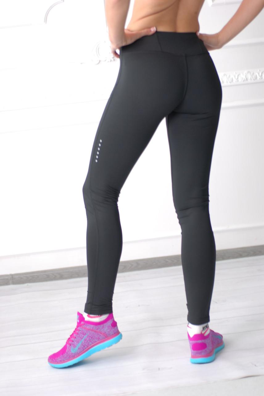52a9b43d Женские спортивные лосины (NIKE) 668700 черные код 700Б: продажа ...