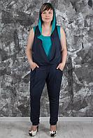 Женский стильный комбинезон больших размеров, разные цвета