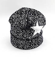 Теплая трикотажная шапка детская 52-58р