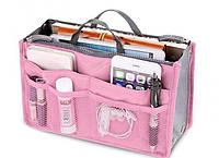 Органайзер для сумочки TAILUP  Bag-in-Bag 29х18х10 см Розовый (024)