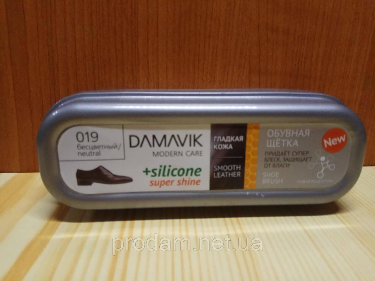 Губка для обуви DАМАVІК  силиконовая с воском