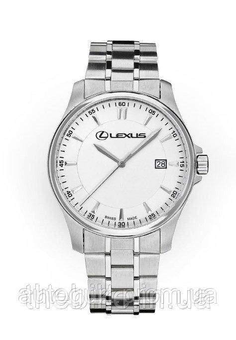 Мужские наручные часы Lexus Men's Watch, Silver, Swiss Made