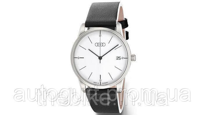 Женские наручные часы Audi Ladie's Watch Flatline, Black/White, Коллекция 2015