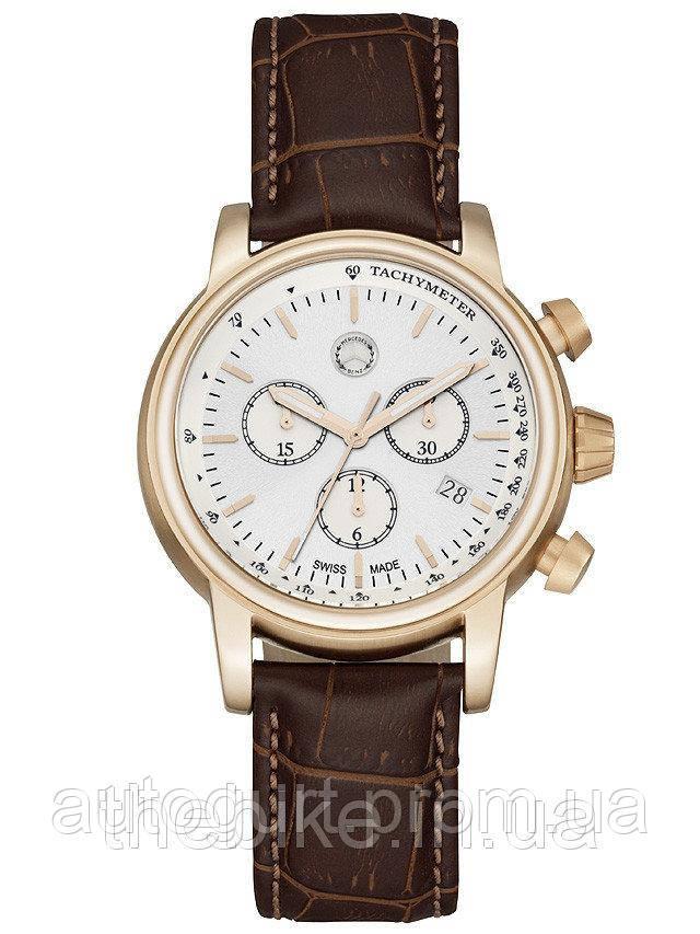 Мужские часы Mercedes-Benz Mens Chronograph Retro Gold