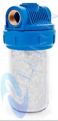 Фильтр колба умягчитель воды для котла бойлера 3выхода, фото 2