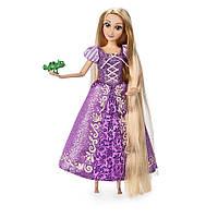 Кукла Рапунцель и хамелеончик Паскаль. Дисней. Disney Rapunzel Classic Doll with Pascal Figure