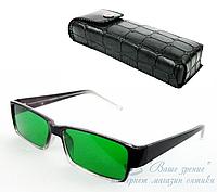 Очки глаукомные (линзы стекло) код 5612