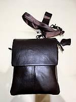 Мужская Кожаная сумка (коричневая), фото 1