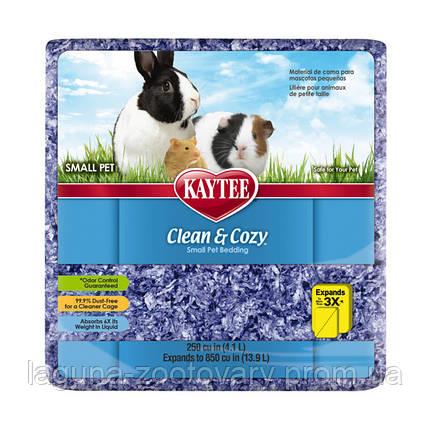 Kaytee Clean&Cozy Purple Клин&Козі ЧИСТО&ЗАТИШНО ФІОЛЕТОВИЙ підстилка для гризунів, целюлоза, фото 2