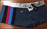 Трусы мужские боксеры хлопок с бамбуком Calvin Klein, ассорти, размер L (46), 03213