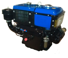 Двигатель для трактора R195NM электростартер JR-Q12Е