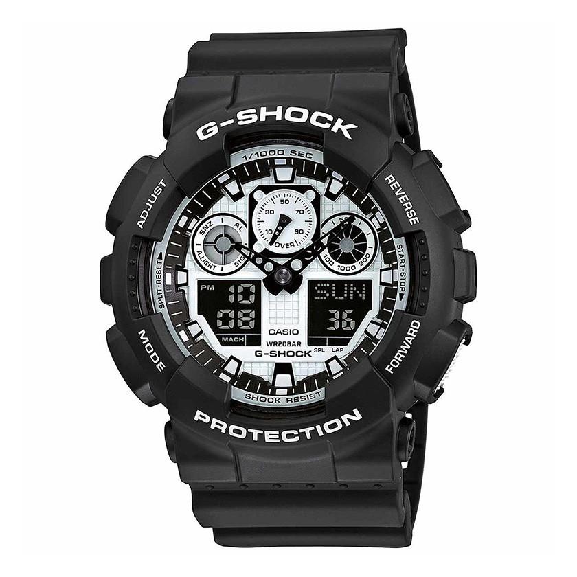 Часы Casio G-Shock GA-100BW-1A В.
