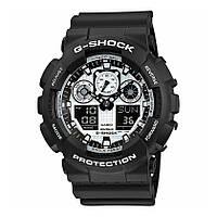 Часы Casio G-Shock GA-100BW-1A В., фото 1