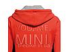 Мужская кофта Mini Men's Sweat Hoodie You.Me.Mini. Orange, фото 2