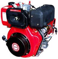 Двигатель в сборе 186F-Е электростартер на мотоблок HT-135/9HP