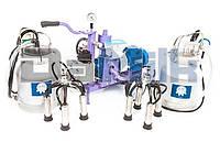 Доильный аппарат УИД-10 с двумя ведрами (мощностью для дойки двух коров одновременно)