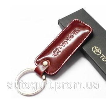 Брелок прямоугольный Toyota Key Pendant, Red