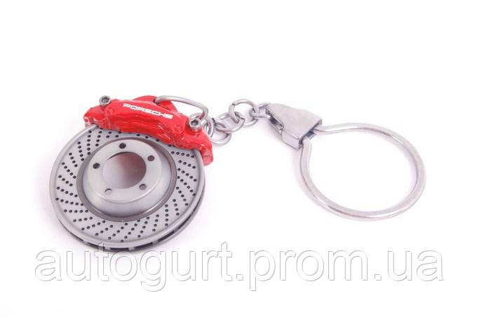 Брелок для ключей Porsche Brake-disc Keyring Red