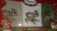 Подарочный набор полотенец Vianna 30x50 (кухня) 3штуки №34