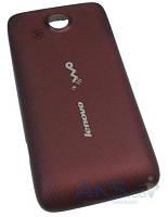 Задняя часть корпуса (крышка аккумулятора) Lenovo A789 Red