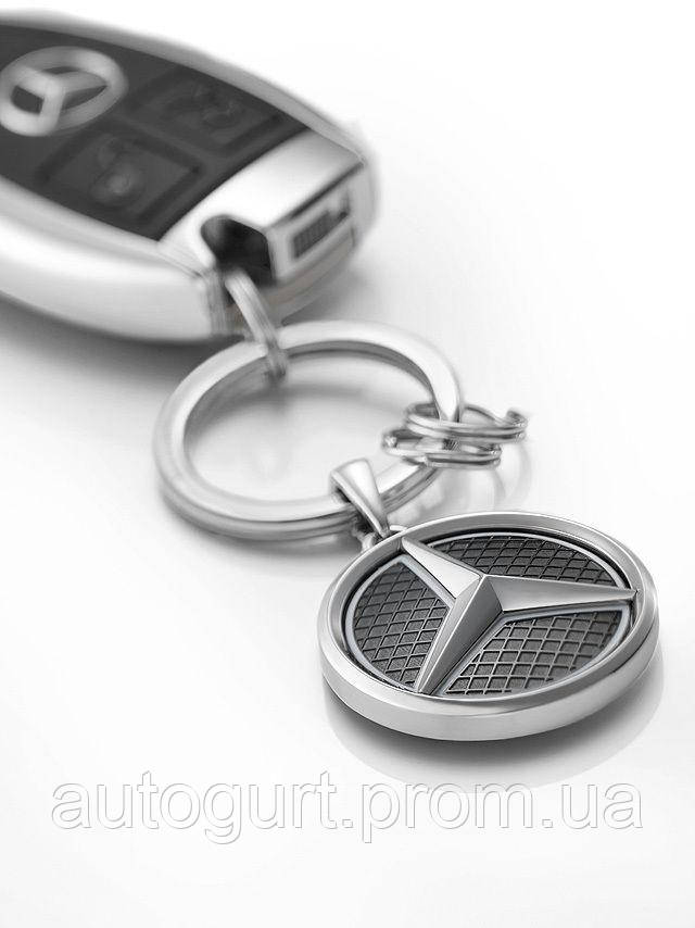 Брелок Mercedes-Benz Key Ring, Las Vegas, silver / black / white