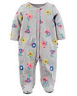 Человечек хлопковый Carters для девочки 9 месяцев 67-72 см