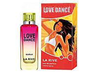 "261836. Туалетна вода жіноча 90 мл ""LOVE DANCE"" ТМ""LA RIVE"""